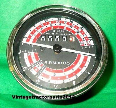 Massey Ferguson Tachometer for MF 155, 158, 165, 168, 175, 178, 180, 185, 188