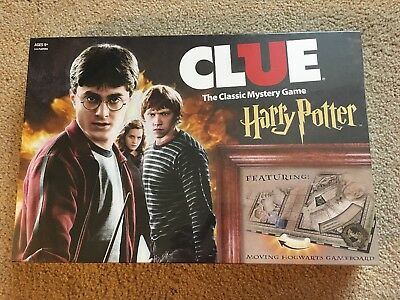 Harry Potter Clue NEW Sealed USAopoly Board Game NIB