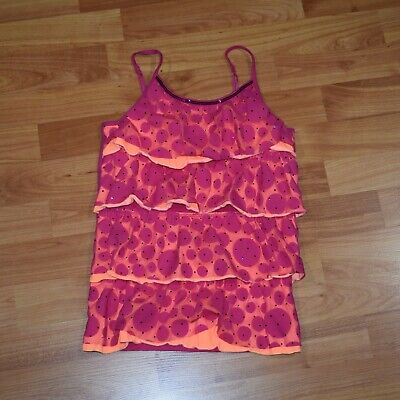 JUSTICE  Girls Size 6/7   Tiered Tank top SHIRT   EUC