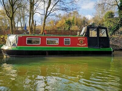 30ft eggbridge narrowboat 1988