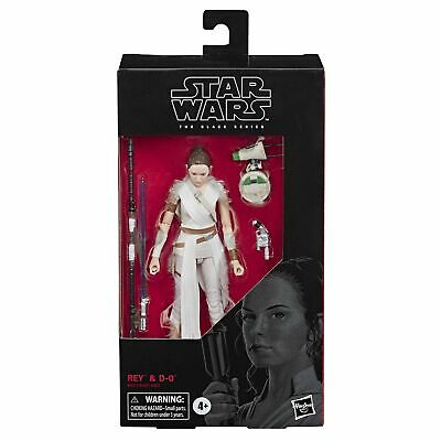 """Star Wars The Black Series Rey & D-O Toy 6"""" Scale Collectible Action Figure, ..."""