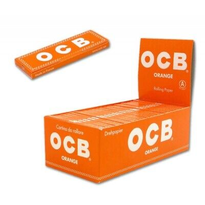 Cartine Ocb Orange Corte 1 Box 50 Libretti 3000 Cartine