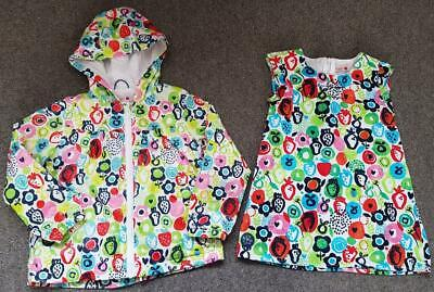 Gorgeous Boboli Spanish Designer Girls 2 Piece Outfit, Dress/Jacket 4 Years