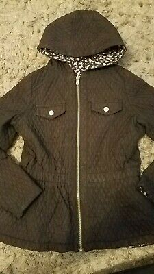 Girls Asda Reversable Quilted Coat 10-11 years