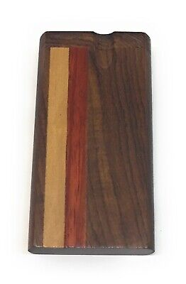 "4"" Wooden Tobacco Dugout Set with pipe Loaded (3"" Metal One Hitter)"