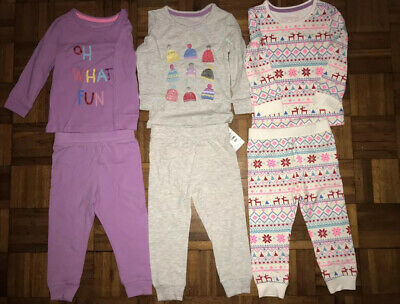 Marks & Spencer Toddler Girls Pyjamas Set Size 1-1.5yrs NEW