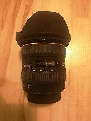 CANON EF-S SIGMA EX 10-20MM F4-5.6 DC HSM ZOOM LENS Excellent condition