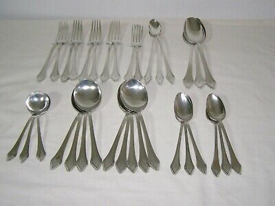 Job lot Gorham Clermont sterling silver cutlery 34 pieces 1.2 kg scrap or resell