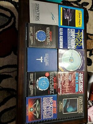 Star Trek Star Fleet Manual Lot of 11. Technical Medical Compendium Concordance