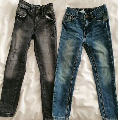 2 pairs of boys Next Skinny Jeans Age 5-6