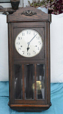 Westminster Chime Clock oak case