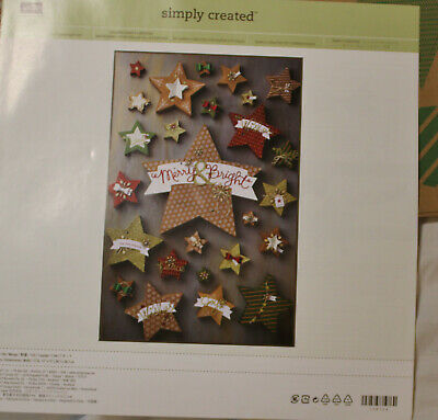 Many Merry Stars Christmas Boxes Simply Created Kit Stampin Up!
