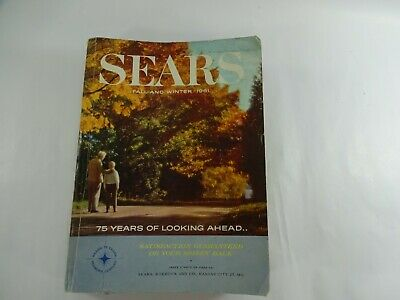 Vintage Sears Catalog 1961 Fall and Winter Wish Book Fashions and More