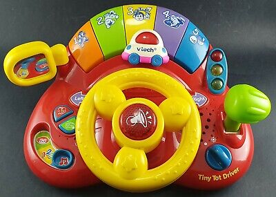 VTech Tiny Tot Driver For Baby's Pre-School Learn n Play Educational Kids Toy