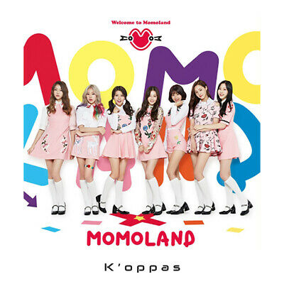 MOMOLAND 1st Mini Album WELCOME TO MOMOLAND CD+Photo Book Kpop Sealed