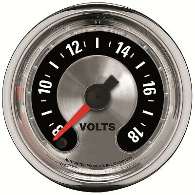AutoMeter 1282 American Muscle Voltmeter