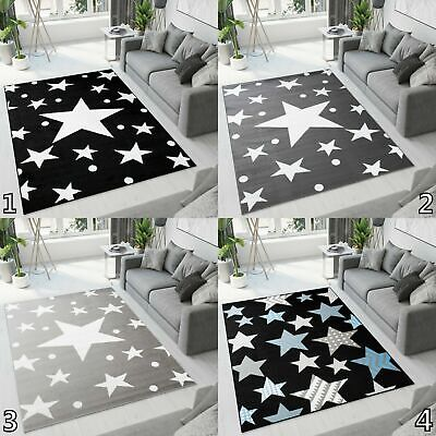 Modern Area Rug Stars Small Extra Large Size Durable Carpet Bedroom Living Room