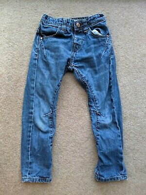 Boys Blue Jeans. Drop Crotch, Primark, 5-6 Years