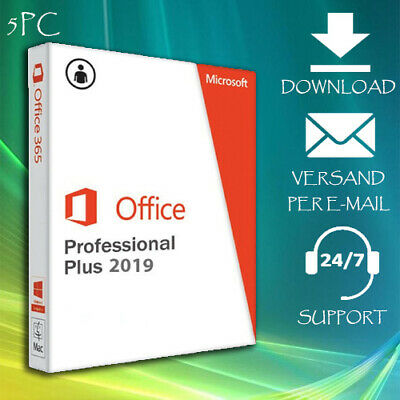 Office 2010/2013/2016/2019 Professional Plus ❀ 1/5 PC ❀ 2 min Versand per Email