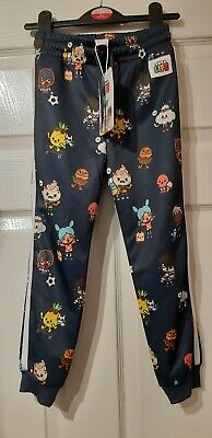 BNWT H&M TOCA LIFE Age 5-6 Years Blue Character Jogger Trousers