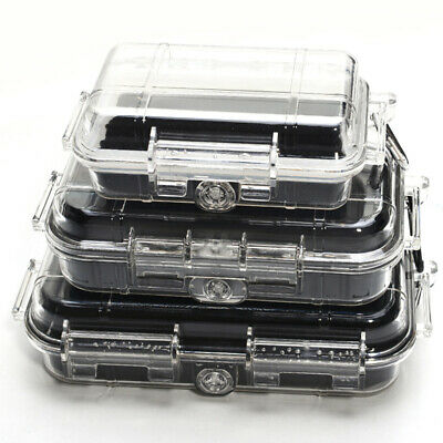 Portable Outdoor ABS Plastic Sealed Waterproof Safety Case Tool Holders Dry Box