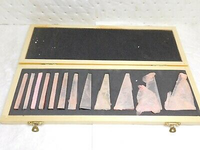 "Fowler 12 Piece Angle Block Set 0.25º to 30° Angle x 3"" Long 53-666-000-0"