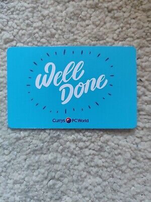 Currys PC World Electronics Gift Voucher Card (£209)  - Acquired from refund