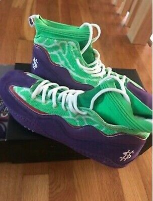 "Wrestle Boutique WB 3.0 ""Joker Meredith"" Bryce Meredith Wrestling Shoe - Size 11"