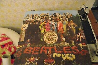 the beatles sgt peppers 1967 mono vinyl with gatefold sleeve and insert