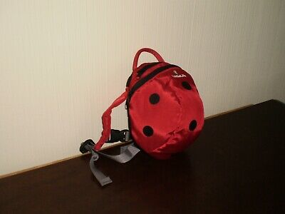 """Rucksack """" LittleLife"""" Big Ladybird Kids Backpack New Without Tags"""