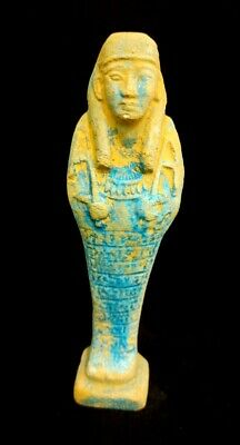 Egyptian Antique Statue Ushabti Sculpture Hieroglyphic Shabti  Shawabti Egypt