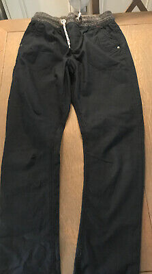 Next Boy's Jogger Waistband Combat Trousers Navy 12 Years