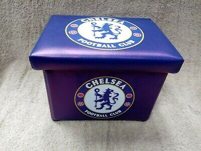 Chelsea FC Football Club Storage Box Foldable Compact 20 x 15 Approx