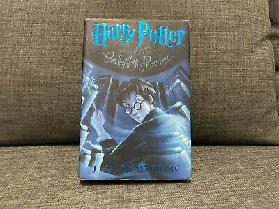 Harry Potter and the Order of the Phoenix (2003, HC) 1st Print / First Edition