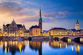 Flights Direct to Zurich - Return from London Stansted - Feb 2020
