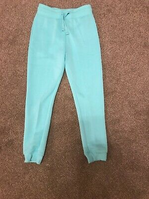 Girls Tracksuit Bottoms Age 9