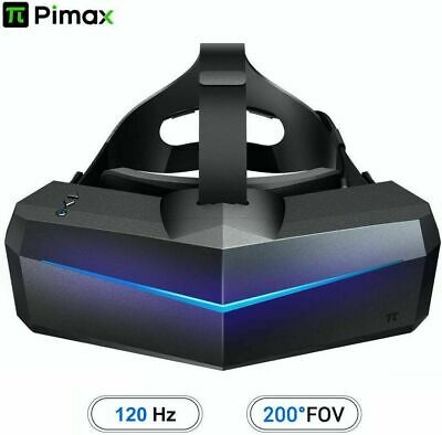 Pimax 5K Plus 120Hz Refresh Rate Virtual Reality Headset with Wide 200°FOV