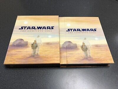 Star Wars: The Complete Saga (Blu-ray, 2011)