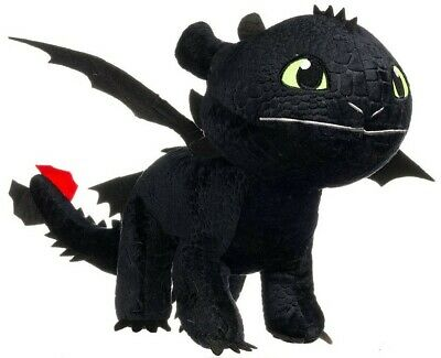 How to train your Dragon 3 - Dragons - Peluche Toothless Krokmou 95 cm de long -