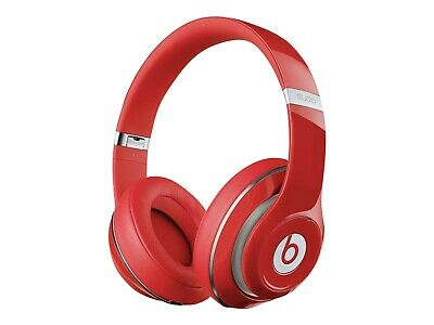 Beats by Dr. Dre Studio Wired Over-Ear Headphones - Red-  Refurbished