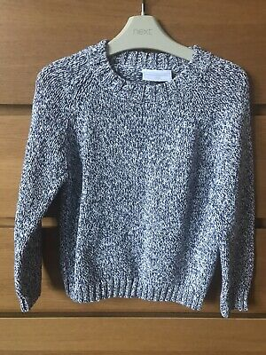 the little white company  Boys Thick Cotton Jumper  Age 7-8