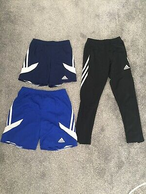 Boys Adidas Lauren Bundle Xs Short Tracksuit Bottoms Skinny Fit