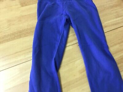Pineapple By Debbie Moore Dance Blue Girls Jogging Bottoms  7-8 Years