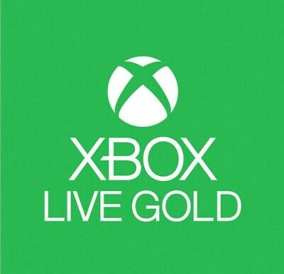 Xbox Live Gold Membership Digital Redeem Codes (Xbox 360 & Xbox One)