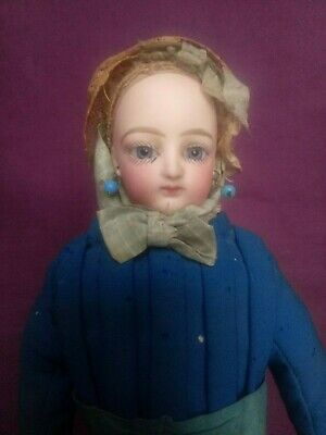 Antique French bisque fashion doll (period Jumeau, Gaultier)