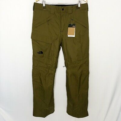 The North Face Freedom Insulated Pant Mens Large Military Olive Green New NWT