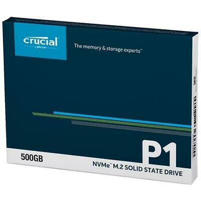 Crucial CT500P1SSD8 P1 500 GB 3D NAND NVMe PCIe M.2 Solid State Drive