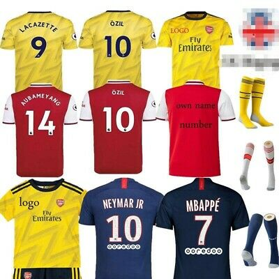 Football Kits MBAPPE 7 Soccer Suits Kids Adults Jersey Strip Sports Outfit Socks
