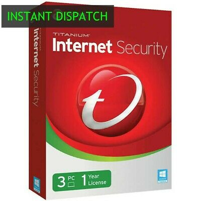 Trend Micro Internet Security 2020 3 device / PC 1 year license key
