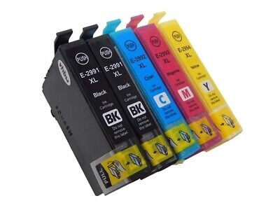 5x Cartucce Inchiostro per Epson Expression Home XP-245, XP-247, XP-255, XP-257